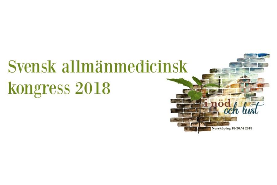 Kom och träffa oss på Svensk Allmänmedicinsk kongress 2018