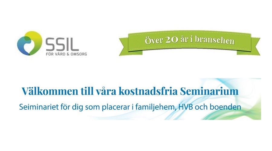 Vårdsupport Socionom besöker SSIL:s seminarium i Norrköping!